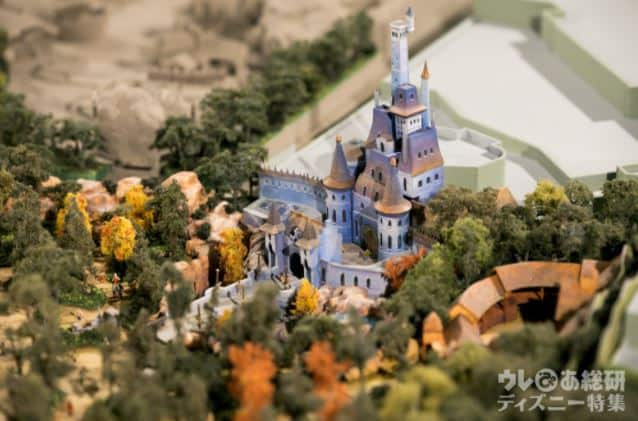 tdl-fantasyland-expansion-model-beast-castle