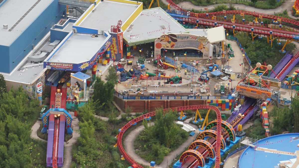 UPDATE - Toy Story Land, Star Wars Galaxy's Edge Construction in Walt Disney World