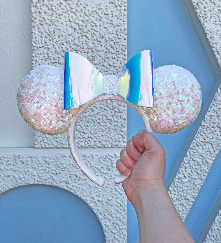 New Iridescent Minnie Mouse Ears and Mickey Ice Cream Bar Ears Coming to Disney Parks