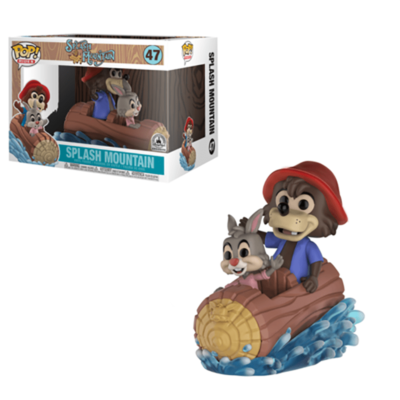 New Funko Pop! Disney Theme Parks Splash Mountain Vinyl Coming Soon!