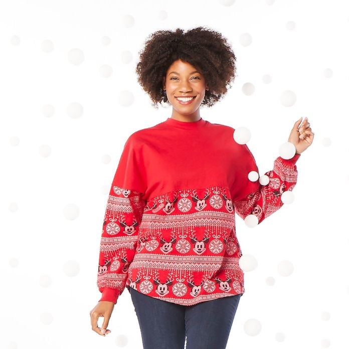 new mickey mouse merry christmas spirit jersey now available on shop disney - Merry Christmas Mickey Mouse