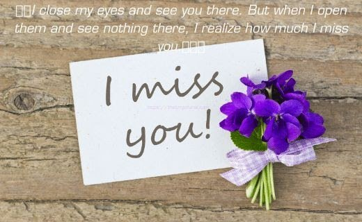 i miss you my sweet heart