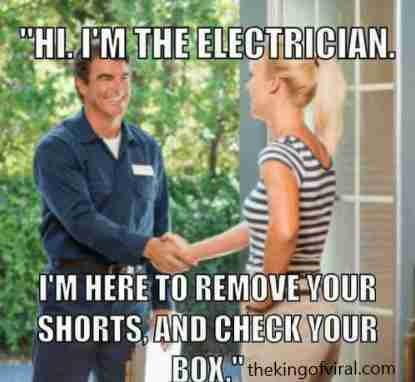 funny electrician quotes