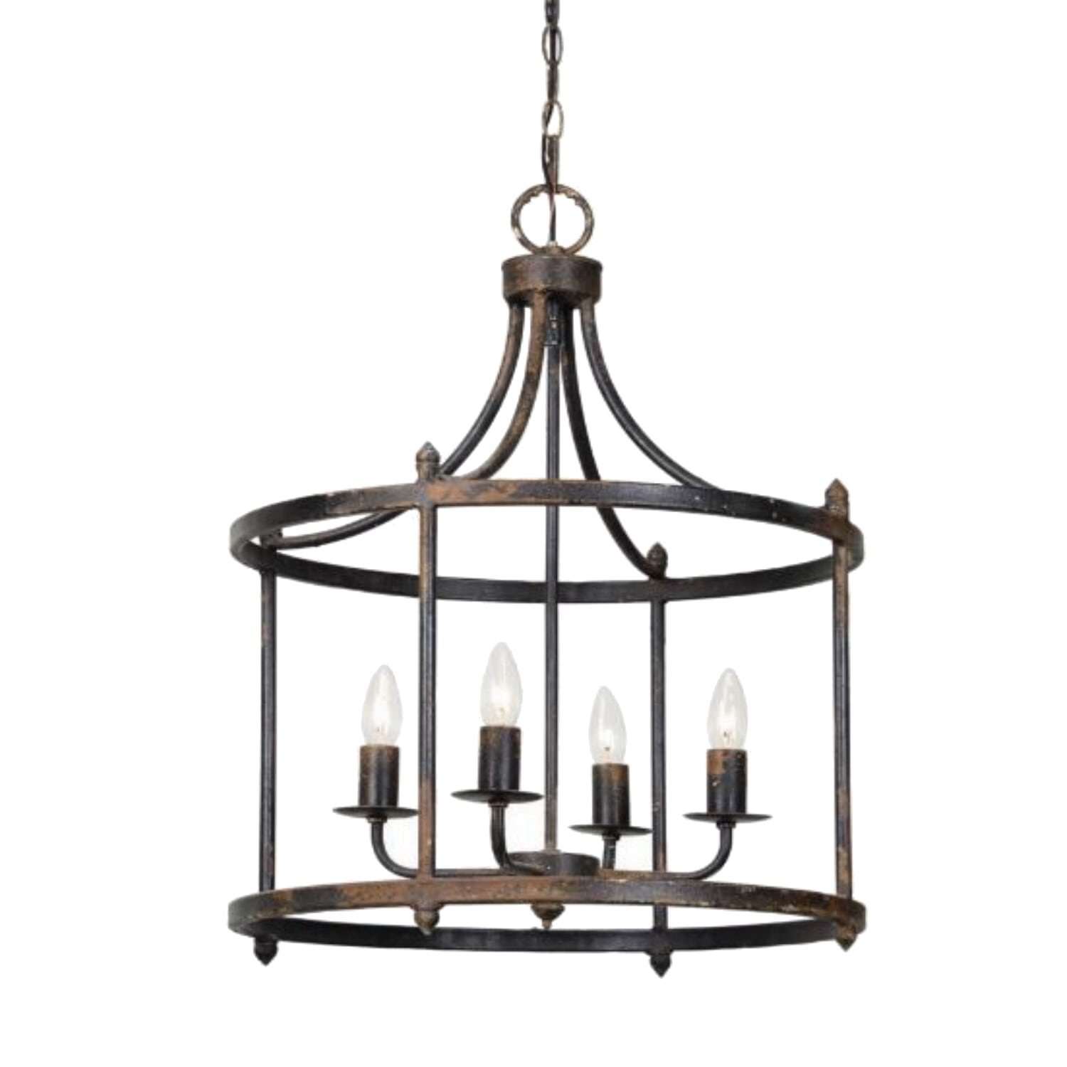 The Virginia Round Chandelier Kitchen Or Hall Pendant