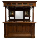 The Dublin Canopy Home Bar Tavern Old Antique Style English Pub Or Counter The Kings Bay