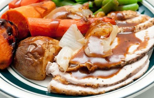 roasted-turkey-dinner