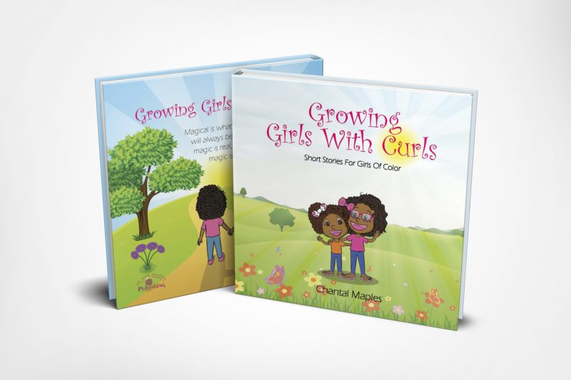 growing girls with curls diverse book by Chantal Maples