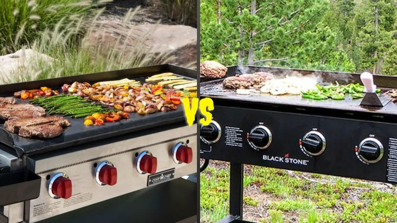 Camp Chef VS Blackstone Griddle