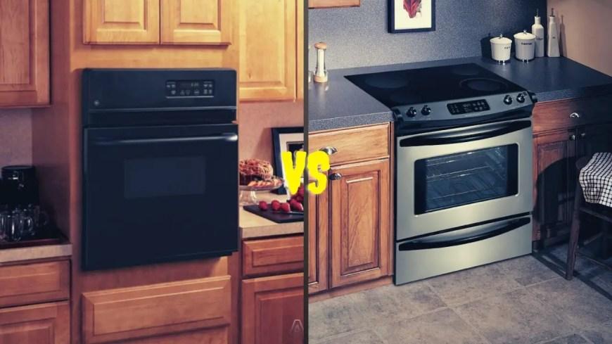 Wall Oven VS Range