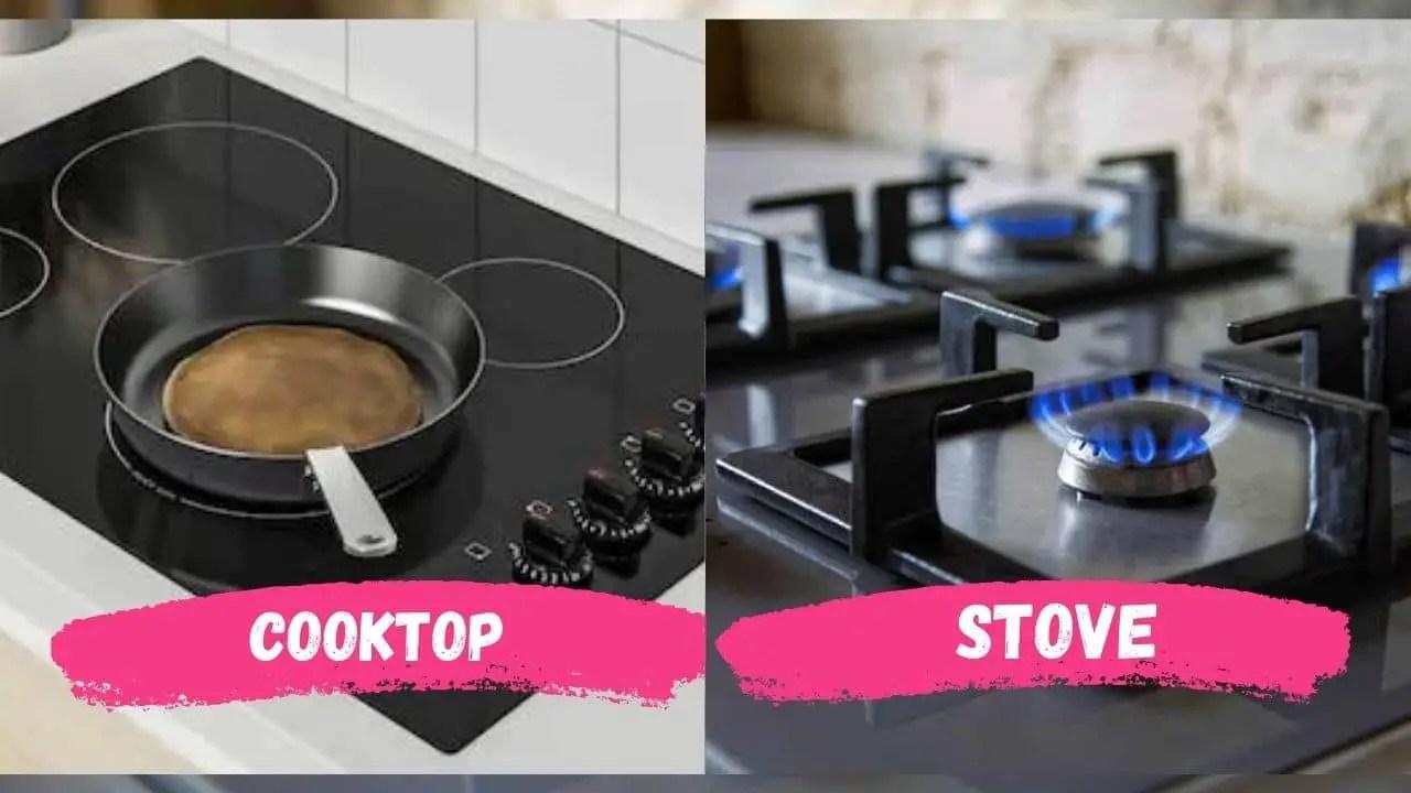 Cooktop VS Stove