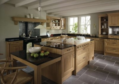 Cornell Oak Kitchen