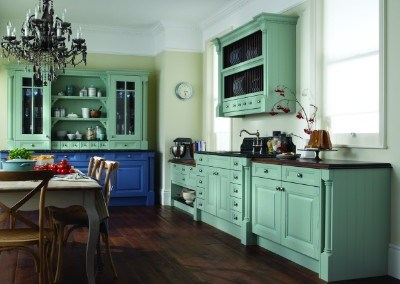 Cornell Oak Painted Kitchen