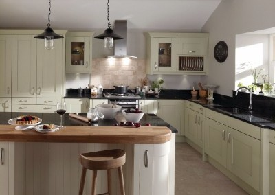 Milbourne Sage Kitchen