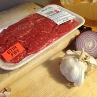 Mushroom-less Beef Stroganoff