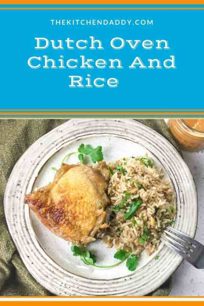 Dutch Oven Chicken And Rice