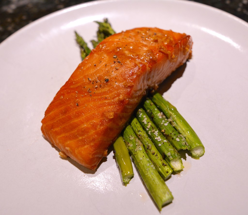 Teriyaki Salmon From Scratch