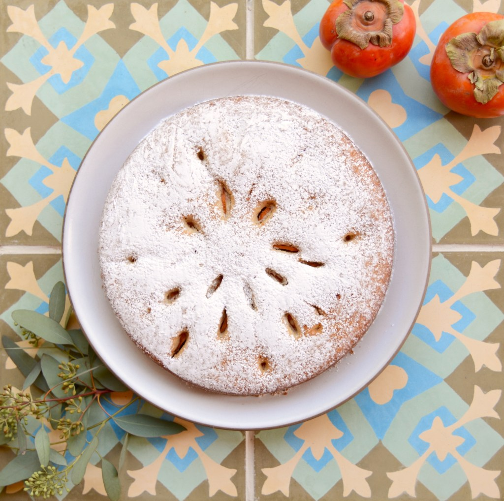 Holiday Persimmon Cake