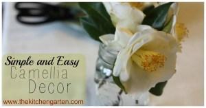 Simple Camellia Decor