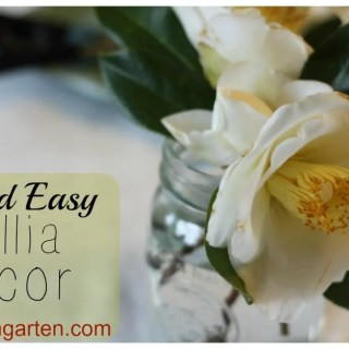 Simple Camellia Decor
