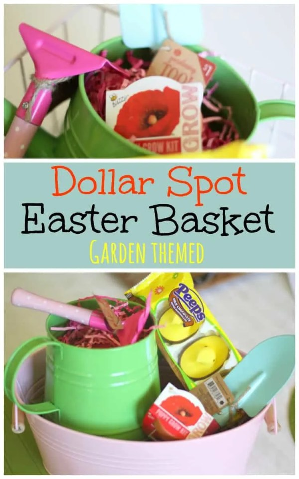 garden easter basket