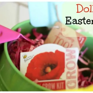 Garden Easter Basket from the Dollar Spot!