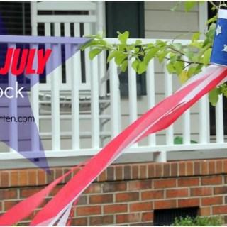 DIY 4th of July Windsock