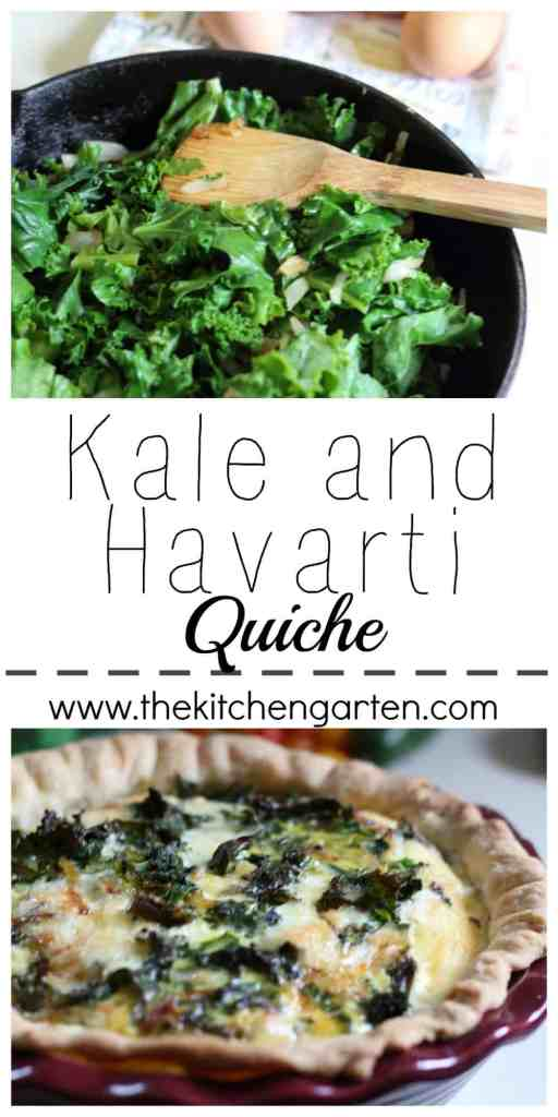 kale quiche pin