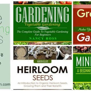Free Gardening Books on Amazon!