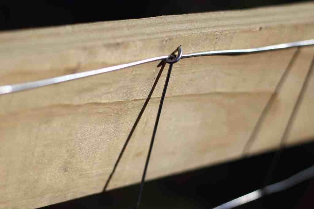 how to build a rabbit fence for raised garden bed