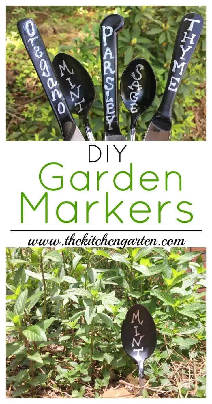 garden labels. DIY Chalkboard Garden Markers Are The Perfect Reusable Labels For All Of Your Veggies, Herbs