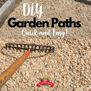 DIY Gravel Garden Paths