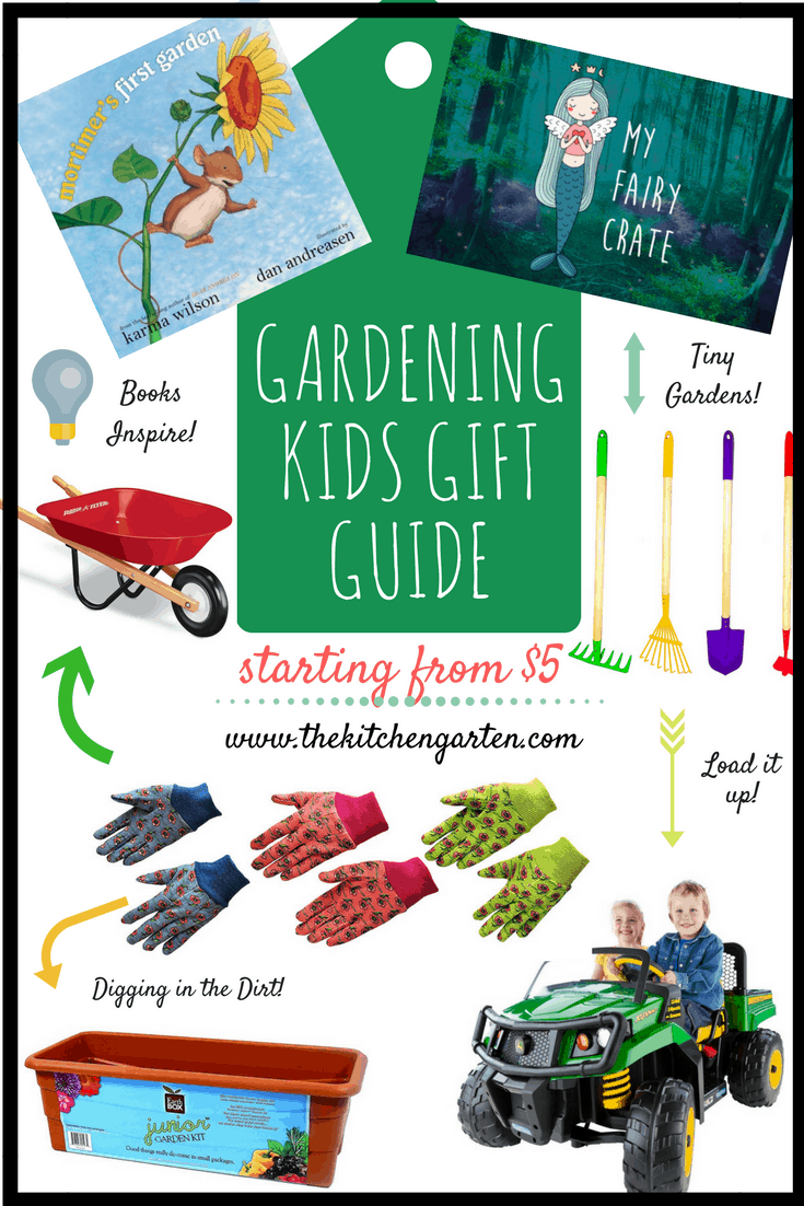 Need a gift for a little gardener? Or trying to avoid screen-related gifts? Check out our Gardening Kids Gift Guide for toys and tools to get kids outdoors!
