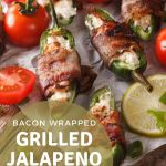 bacon wrapped jalapeno halves stuffed with cheese