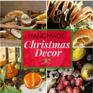 Handmade Christmas Decorations and a Giveaway!