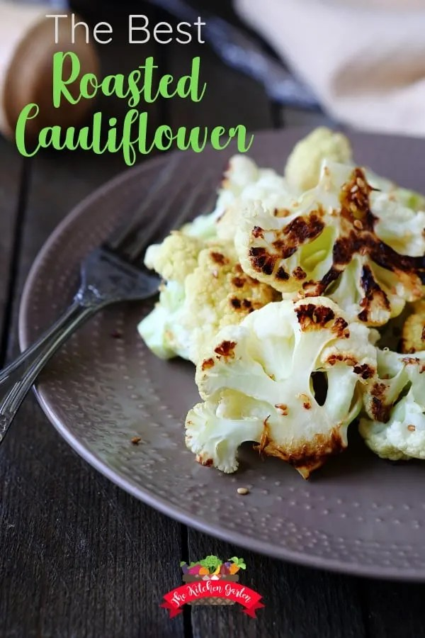 the best roasted cauliflower