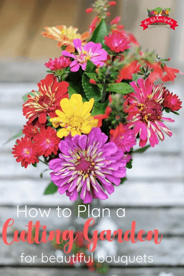 how to plan a cutting garden