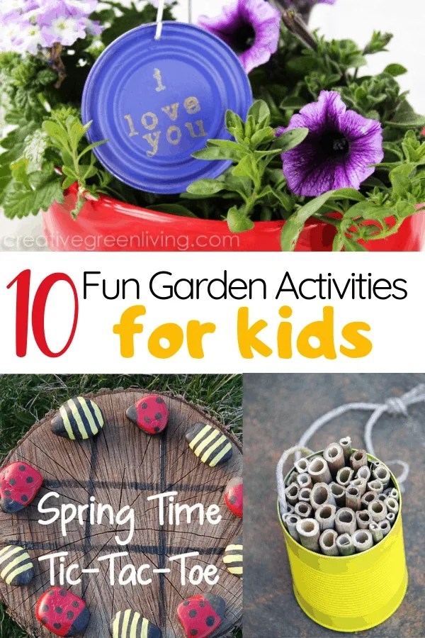 10 fun gardening activities for kids