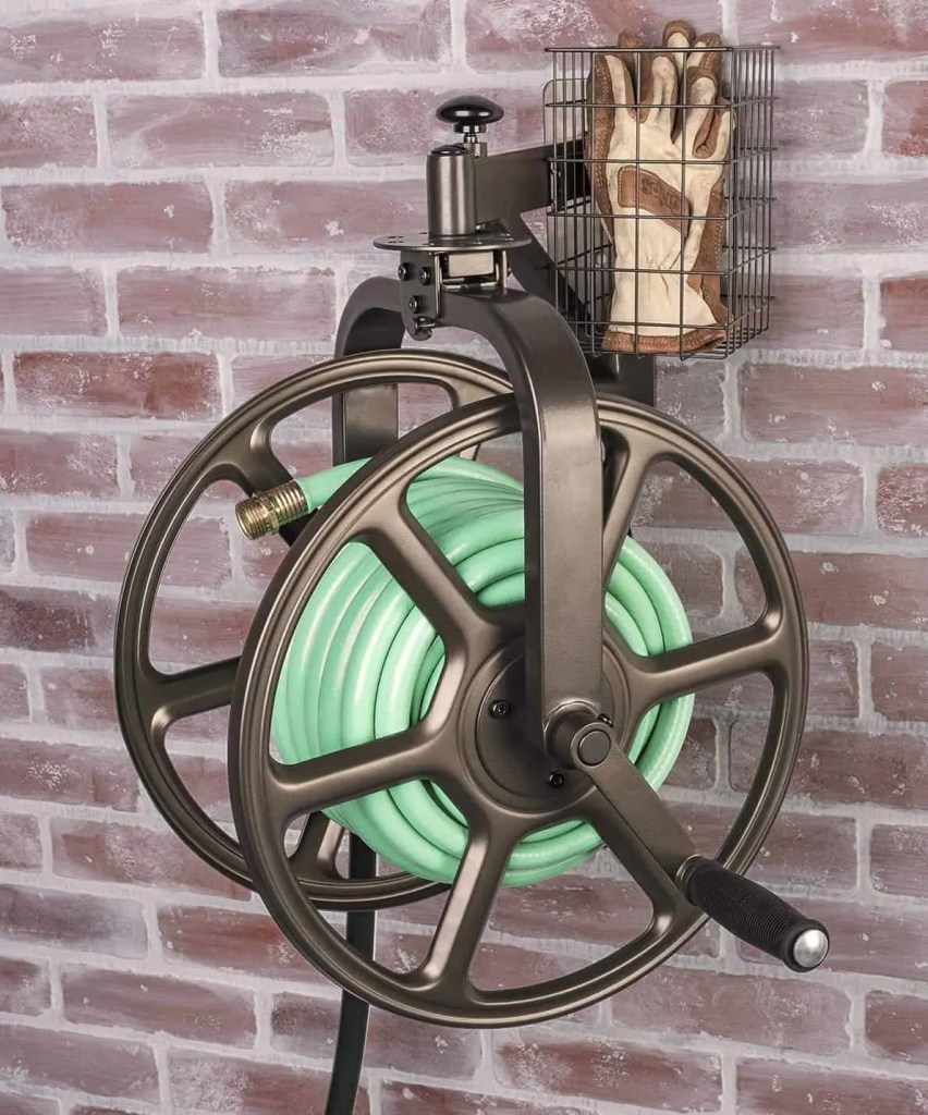 liberty garden wall mounted directional reel