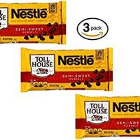 Nestle Toll House Semi-sweet Chocolate Morsels 12oz (Pack of 3)