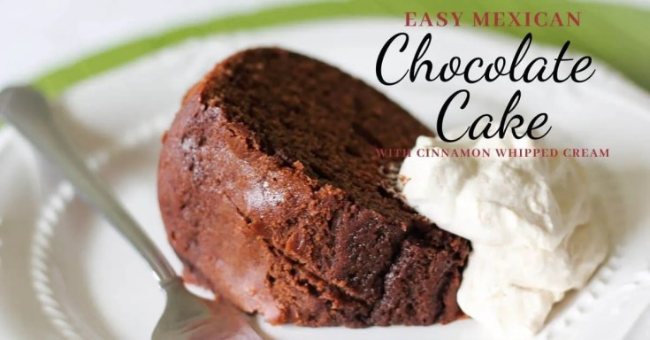 Easy Mexican Chocolate Cake