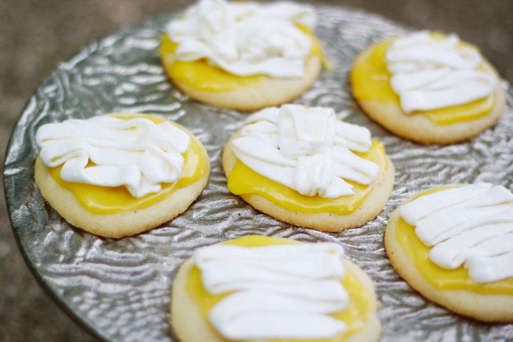 Lime Iced Sugar Cookies