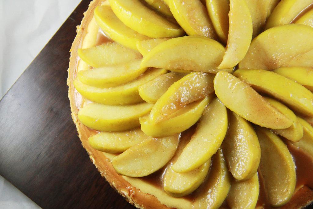 Apple Pie Cheesecake   The Kitchen Gent