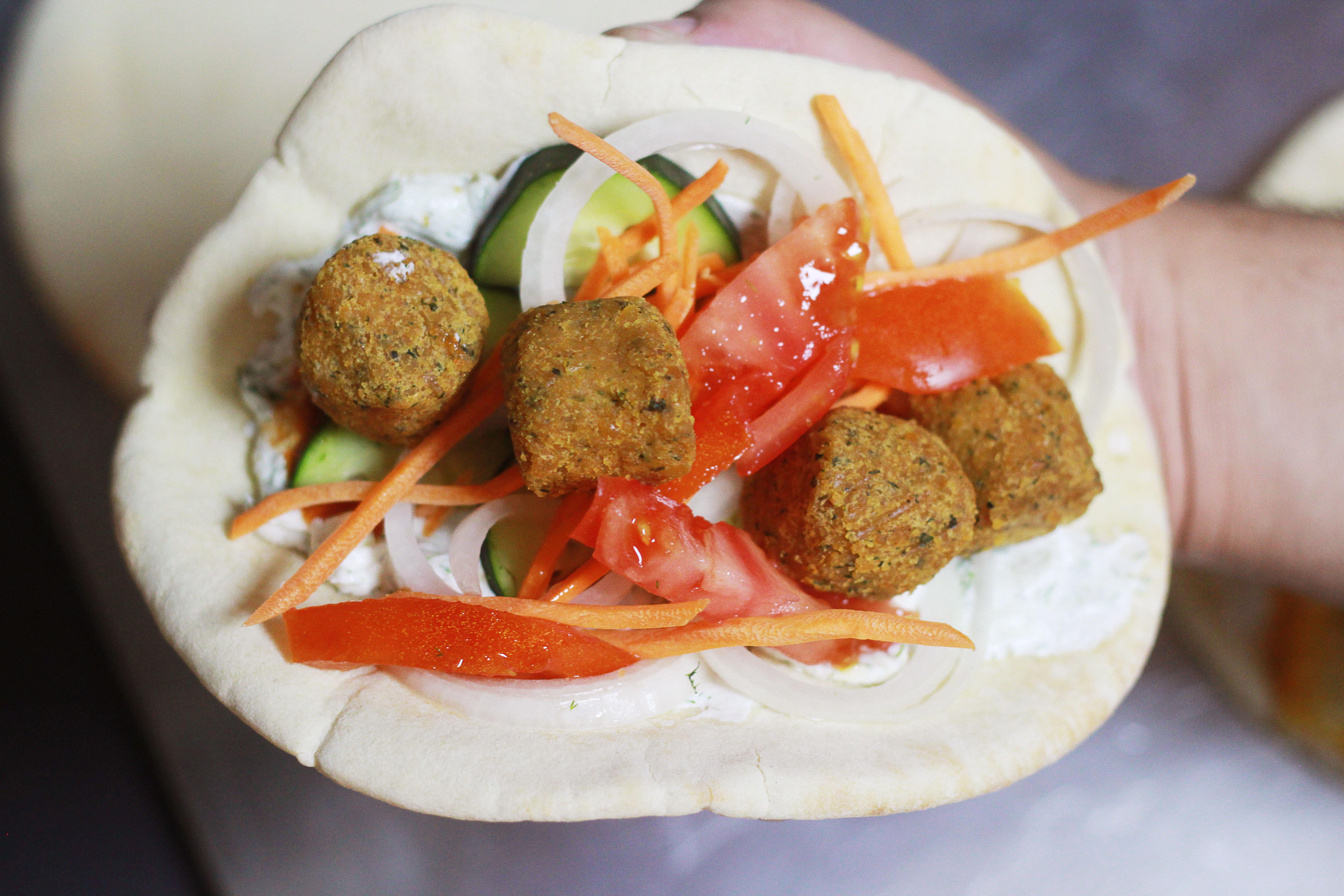 Vegetarian Döner Kebab
