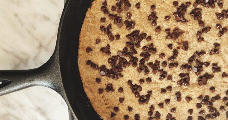 Nadiya's Stovetop Skillet Cookie