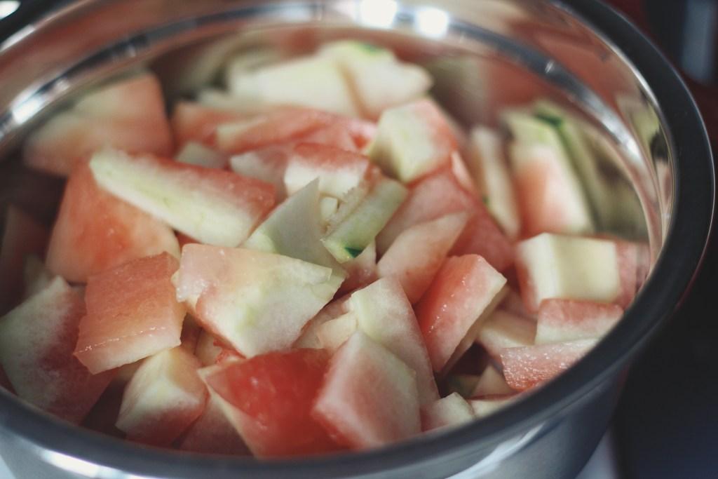 Watermelon Rind Pickles | The Kitchen Gent
