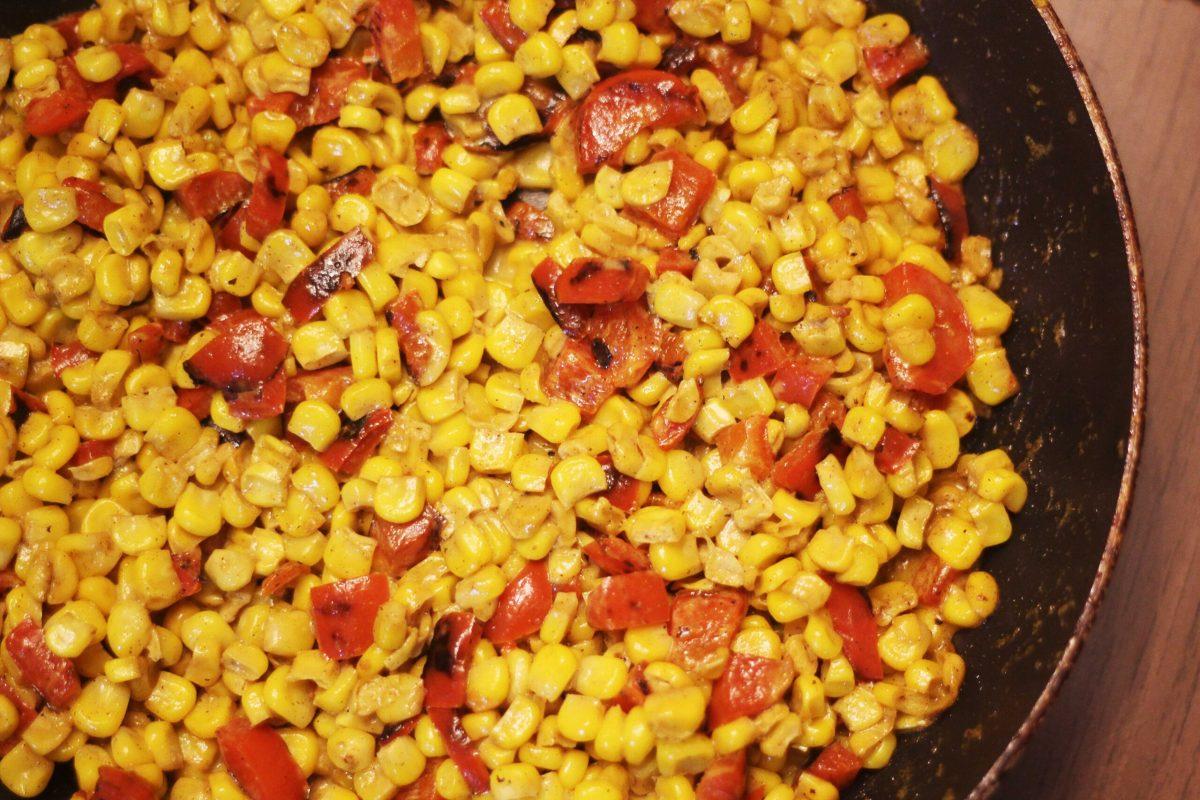 Creamy Curried Corn | The Kitchen Gent