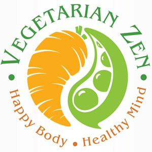 Vegetarian Zen Logo | The Podcast for Vegetarians, Vegans and Veg-curious