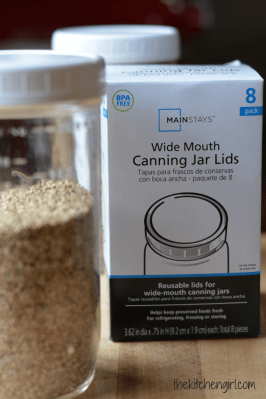 Food storage ideas and where to buy BPA-free canning jar lids   The Kitchen Girl