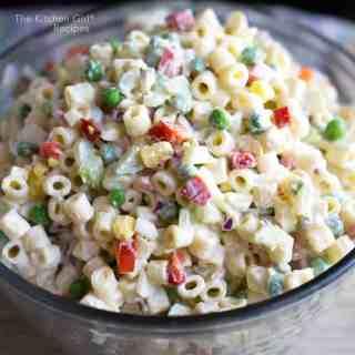 Macaroni Salad With Greek Yogurt Dressing
