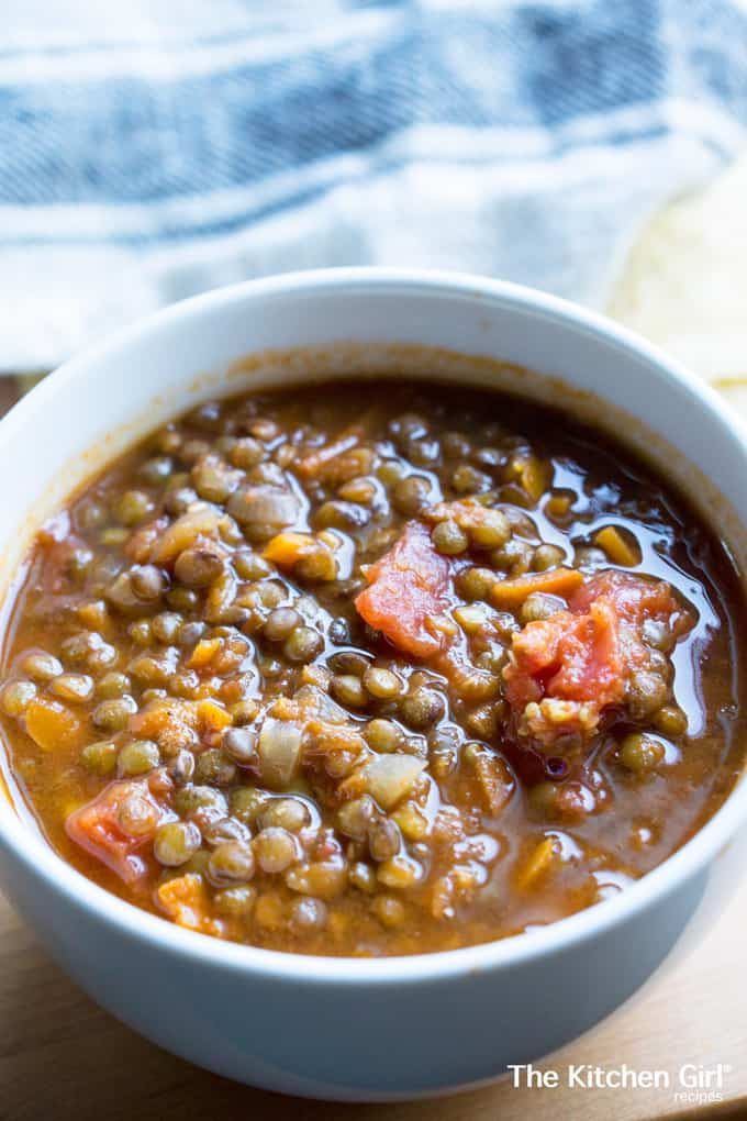 Going Meatless Lentil Chili: one pot, clean eating, 60 ...